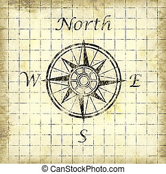north arrow