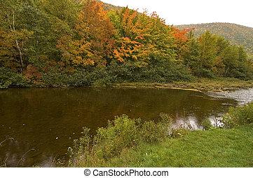 North Aspy River, Cape Breton Highlands National Park, Cape Breton Island, Nova Scotia, Canada