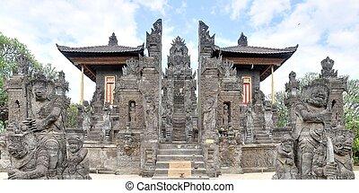 North Balinese Hindu Temple near Singaraja, Bali - Entrance...