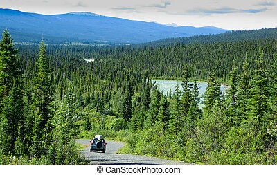 North Canol Road, Yukon Territory, Canada - Travelling the...