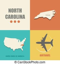 North Carolina flat