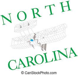 North Carolina illustration