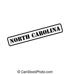 North Carolina sign in stamp style vector