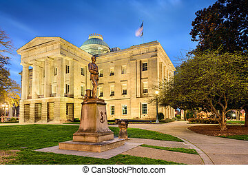North Carolina State Capitol - Raleigh, North Carolina, USA.