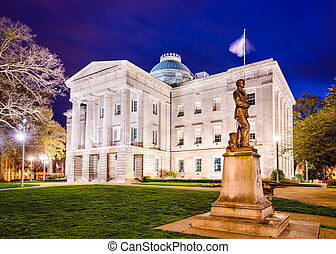 North Carolina State Capitol - Raleigh, North Carolina, USA...