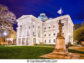 North Carolina State Capitol - Raleigh, North Carolina, USA...