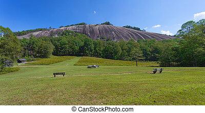 North Carolinas Stone Mountain - Stone Mountain in Stone ...