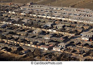 china rural residential buildings
