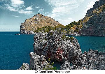 North coast of the island of Mallorca