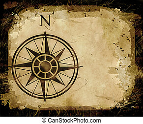 north compass map arrow