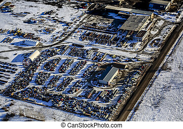 North Corman Industrial Park Aerial