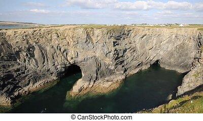 North Cornwall cove snorkelling - Wine cove North Cornwall...