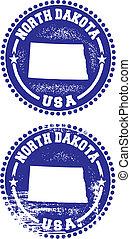 North Dakota USA Stamps