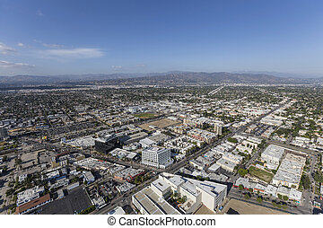 North Hollywood California Aerial