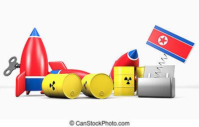 North Korea - The Menace