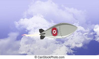 North Korean Nuclear Missile