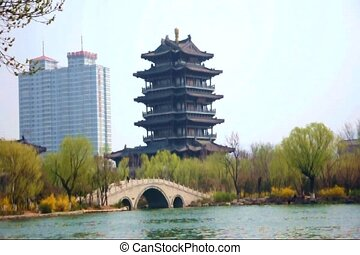 North Pole Temple 1 - The largest Taoist Temple in Jinan...