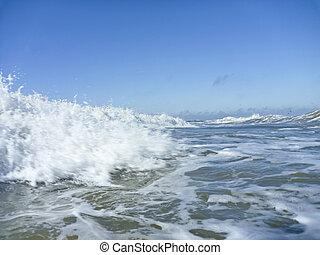 North sea breakers