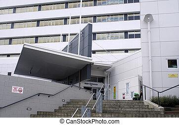 North Shore hospital - New Zealand - AUCKLAND - MAY 29 2014:...