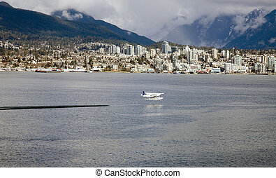 North Vancouver from Stanley Park