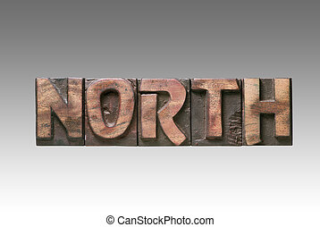 North vintage type