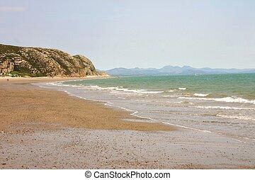 North Wales Shoreline - Shoreline, late afternoon, North...