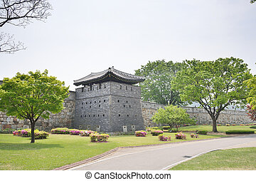 north-west, guntower, ......的, suwon, hwaseong, 叫,...