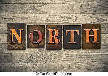 North Wooden Letterpress Theme