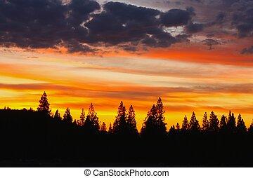 Northern California sunset