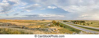 northern Colorado prairie panorama