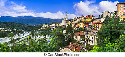 northern Italy landmarks - Belluno town - Travel in northern...
