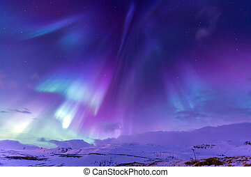 Northern Light Aurora borealis Iceland - The Northern Light...