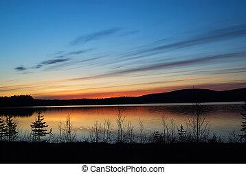 northern Lappland in Sweden