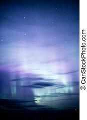 Northern Lights Aurora Borealis Alaska Night Sky Astronomy -...