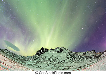 Northern Lights Aurora