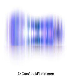 Northern lights, Aurora polaris. Abstract vector shiny...