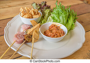 Northern Thai hors d'oeuvres Recipe