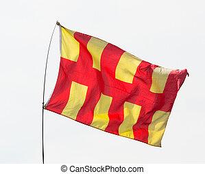 Northumberland Flag, England