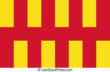 Northumberland flag - Northumberland county flag North East...