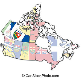 northwest territories on map of canada