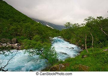 noruega, beleza, natureza