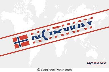 noruego vendimia