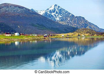 noruego, fiordo
