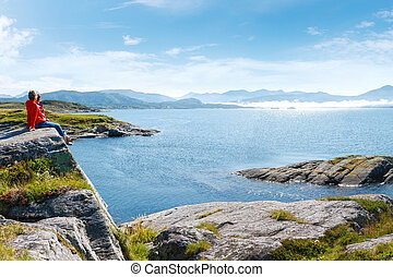 noruego, paisaje
