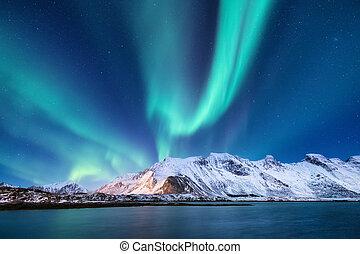 norueguês, paisagem