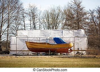 norvegese, barca