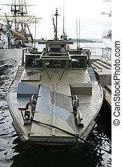 norvegese, barca pattuglia