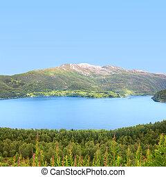 norvegia, settentrionale, paesaggio