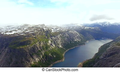Norway. beautiful landscape of Norway. Fjord