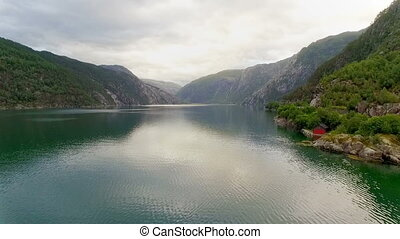 Norway. beautiful landscape of Norway